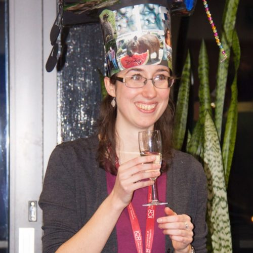 Many congratulations to Katie for defending her PhD!