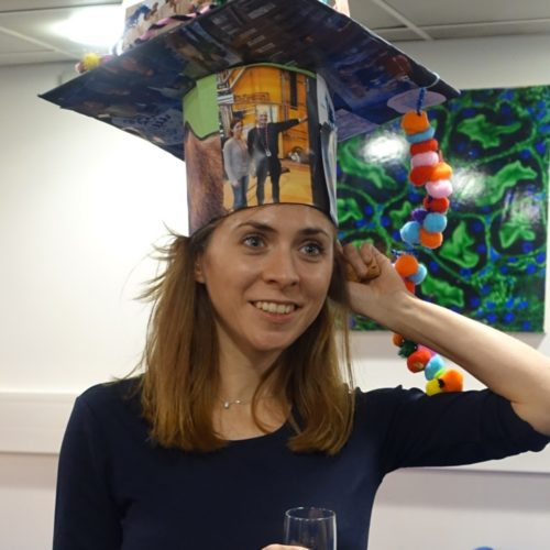 Congratulations to Laura for defending her PhD!